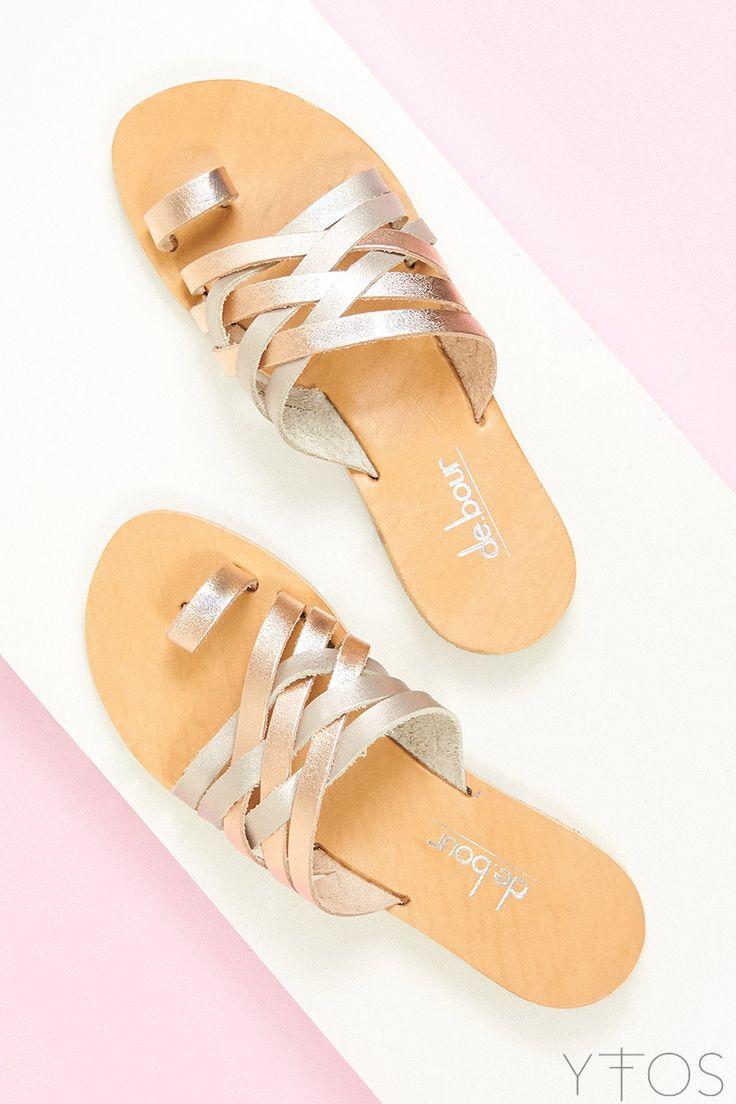 Yfos Online Shop | Shoes | Plekti Sandals by De.bour