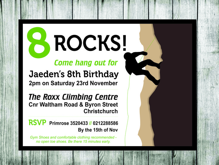 33 best Rock Climbing Party images on Pinterest Birthdays Rock