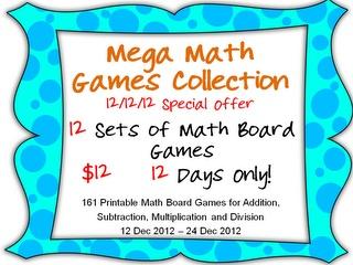 mega math games grade 2