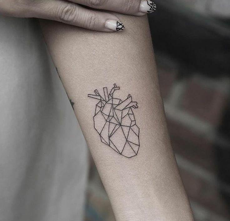 Top Heart Tattoo Designs von 2019 – Seite 15 von 20 – Tattoo Idees