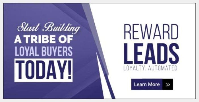 RewardLeads Automated Loyalty Program Software by Steve Benn