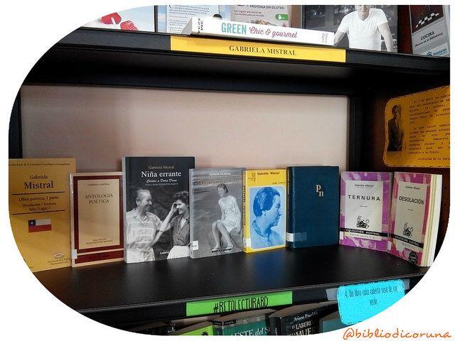 El nuevo #RecunchoBD lo dedicamos a Gabriela Mistral, ya que el 7 de abril se cumplen 126 años del nacimiento de la que fue la primera mujer latinoamericana en ganar el Premio Nobel de Literatura en 1945. En el rincón temático os dejamos una pequeña selección de obras de esta poetisa, diplomática, feminista y pedagoga chilena; y alguna biografía para que podáis acercaros a su figura.