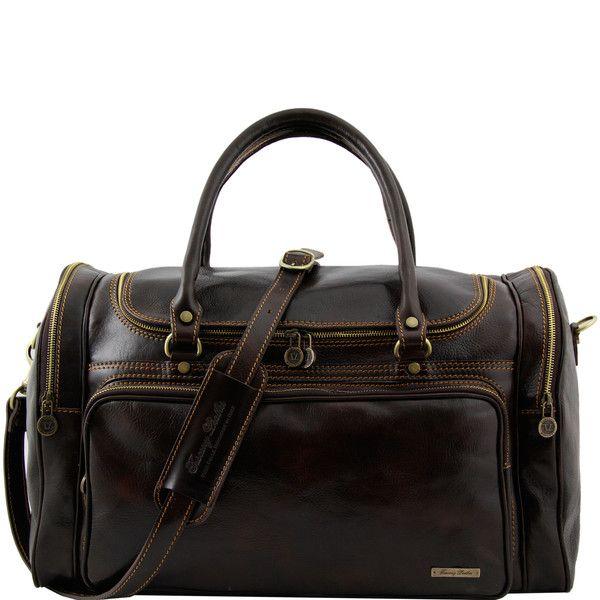 Prague - Travel leather bag