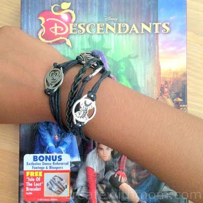 Disney Descendants DVD and Hasbro Descendants Collection