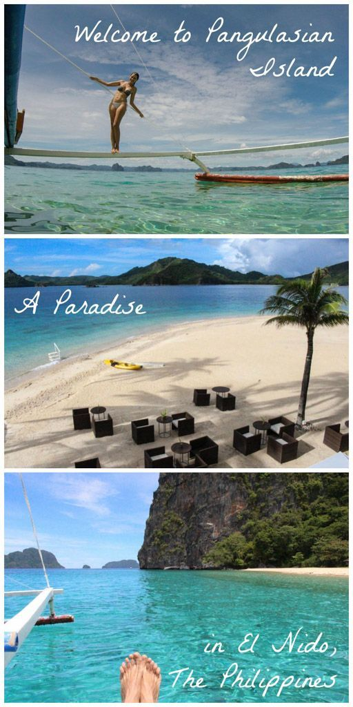 Pangulasian Island » The best place to stay in El Nido, Philippines! Discover…: