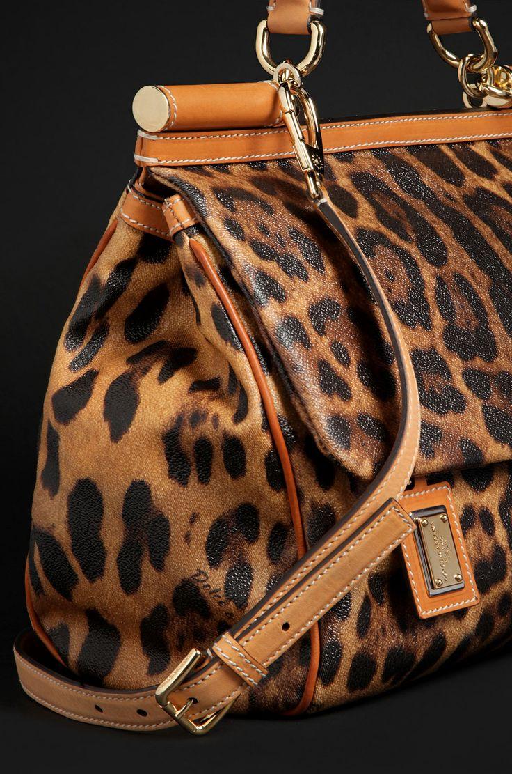 Dolce&Gabbana Animal print Miss Sicily bag