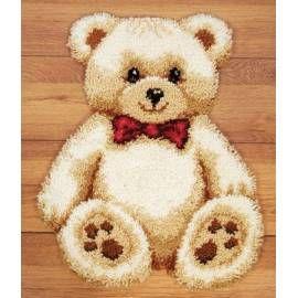 Набор для вышивки ковра Vervaco 37055-2566 Мишка