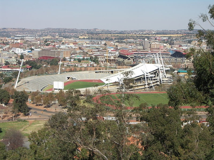 Johannesburg Stadium/ RSA - now known as Ellis Park Stadium #WC #Final #IAAF #1998 #400m