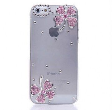 iPhone5 cover with Rhinestone