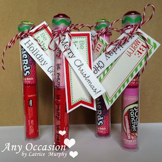 Tube Stocking Stuffers by Latrice