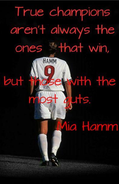 Mia Hamm.