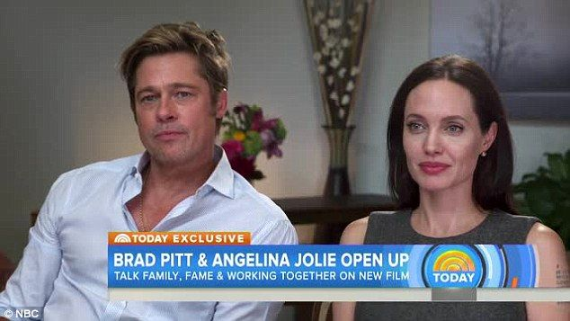 'It was mature': Brad Pitt praises his wife Angelina Jolie's courage in a new joint interview on TODAY