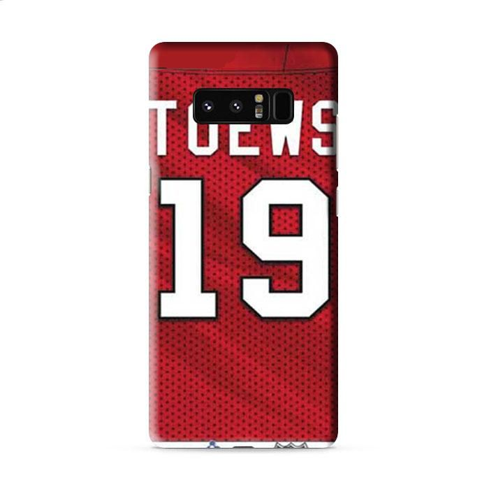 Jonathan Toews jersey pattern Samsung Galaxy Note 8 3D Case Caseperson