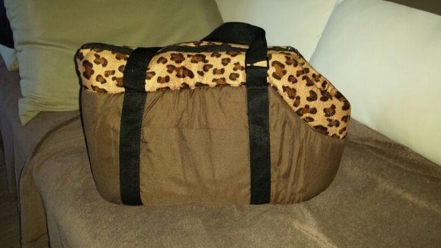 Tienda Online Perro bolsa de transporte, bolsa de viaje bolsa de transporte para perros y gatos bolsa de lunares de color rosa estampado de leopardo pequeño perro gato bolsa de Camuflaje Estrella | Aliexpress móvil