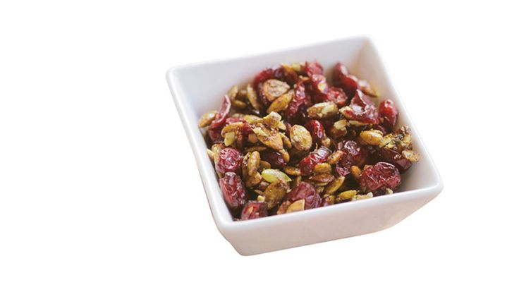 Gayle King was hooked on this sweet and salty trail mix alternative after trying it on a hike along the Appalachian Trail: Canyon Ranch's Pumpkin Crunch Recipe