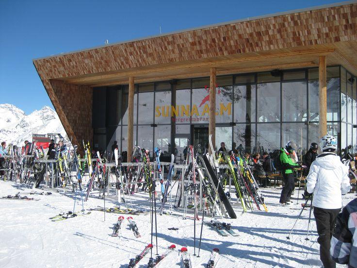 Restaurant Sunna Alm - Rifflsee - Pitztal - Tirol