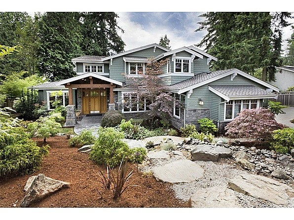 Craftsman styled home