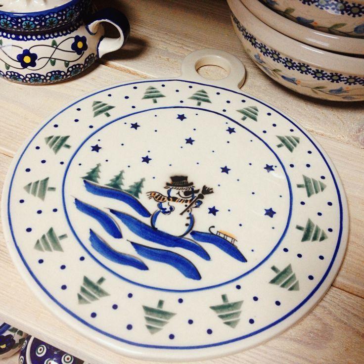 керамическая досточка Счастливого Рождества / ceramic board Merry Christmas #polishpottery #pottery  #ceramics #boleslawiec #польскаякерамика #посударучнойработы #керамикаручнойработы #посуда ceramic | tableware | pottery | polish pottery | boleslawiec | посуда | керамическая посуда | польская керамика  | польская посуда | болеславская керамика | керамика