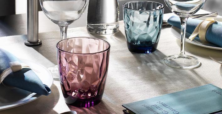 Bormioli Rocco,  Diamond collection, glass