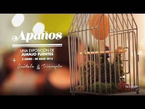 Exposición Apaños, de Juanjo Fuentes con Crótalo & Triángulo by NiceWave tv - YouTube
