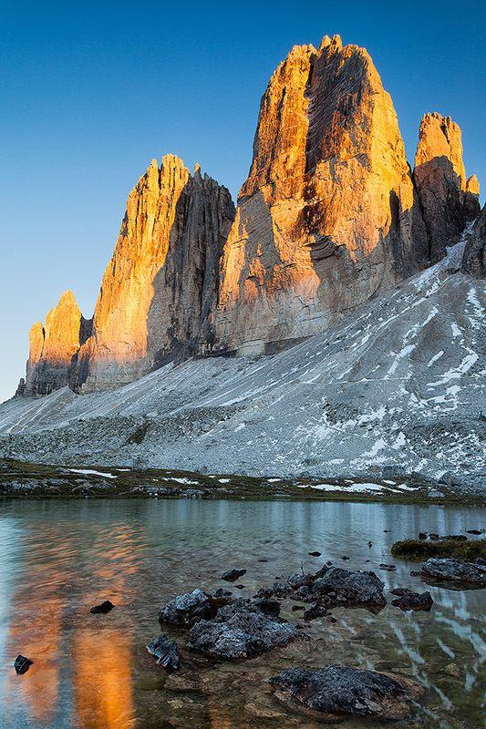 Tre  cime  di Lavaredo , province of Belluno , Veneto region Italy Tomas Nevesely