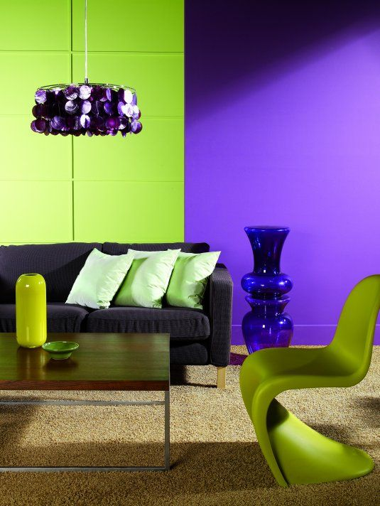 Purple Living Rooms 121 best interior - purple & green images on pinterest | colors