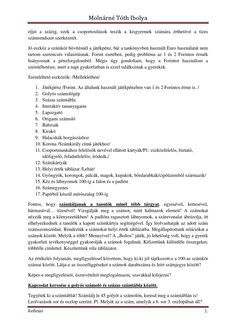 Molnárné Tóth Ibolya Reflexió a matematika órához.