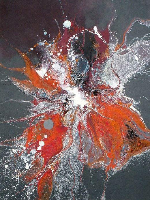Bevorzugt Les 25 meilleures idées de la catégorie Peintures abstraites sur  BL49