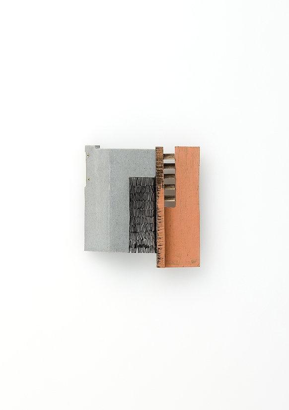 Joohee Han resin, wood, thread, brass 2012