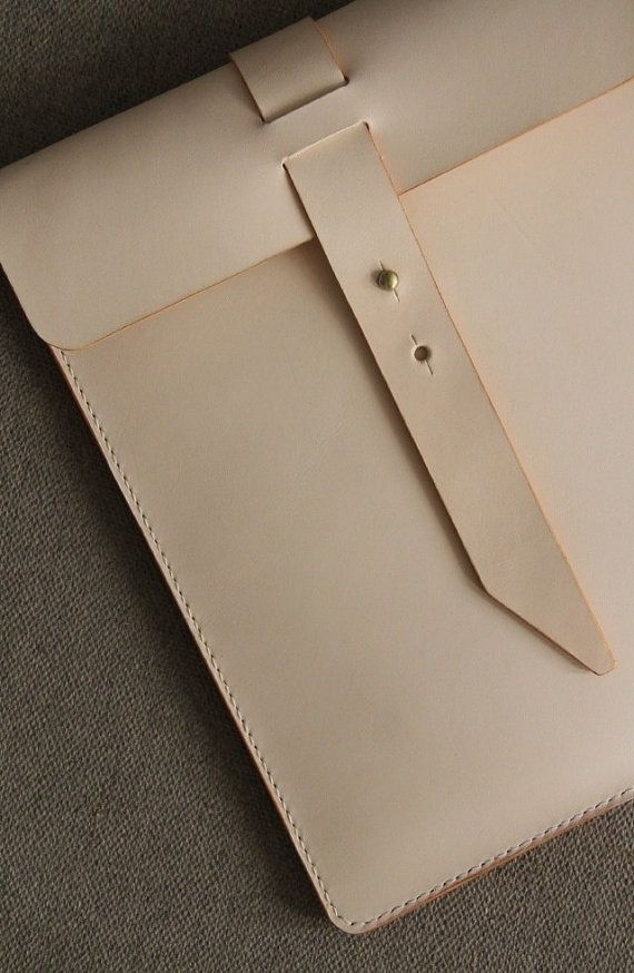 Leather Clutch IPAD Case IPad Portfolio/Top by ONESTUDIObyTG
