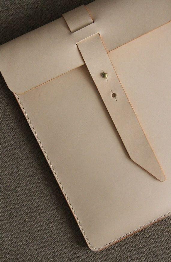 Leather Clutch IPAD Case IPad Portfolio/Top by ONESTUDIObyTG