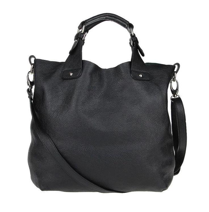 ITALIAN WOMEN'S LEATHER BAG SHOPPER XXL DIN-A4 Shoulder bag CrossOver HANDBAG: £83.91 End Date: Sunday Sep-10-2017 18:19:35 BST Buy It Now…