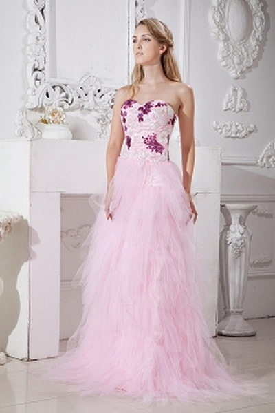 Tulle Elegant Sweetheart Cocktail Gowns wr1812 - http://www.weddingrobe.co.uk/tulle-elegant-sweetheart-cocktail-gowns-wr1812.html - NECKLINE: Sweetheart. FABRIC: Tulle. SLEEVE: Sleeveless. COLOR: Pink. SILHOUETTE: A-Line. - 134.59