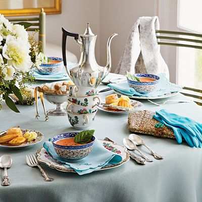Wonderful menu and recipes for a Ladies Lunch/Tea Party - Southern Living