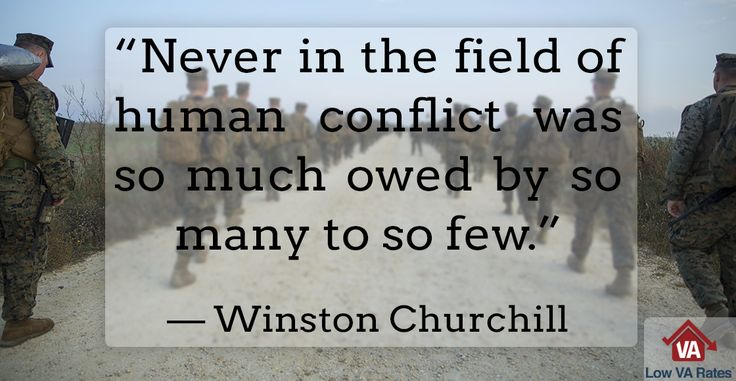 This #WednesdayWisdom quote comes from our list of 10 Famous Military Quotes. Check out the full list and the history behind this quote here