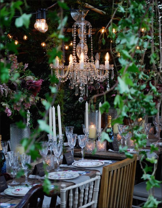 Gorgeous garden party