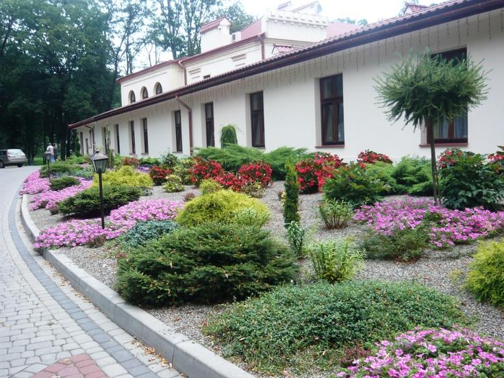 Ogród w Dubiecku