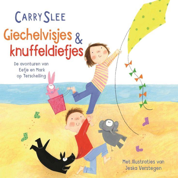 Giechelvisjes & Knuffeldiefjes | Carry Slee: Mark en Eefje gaan met hun hond Boef op vakantie naar het een vakantiehuisje op Terschelling.…