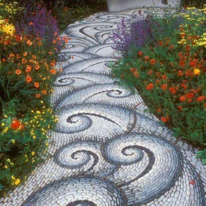 Cool Garden Ideas cool garden path Cool Garden Path