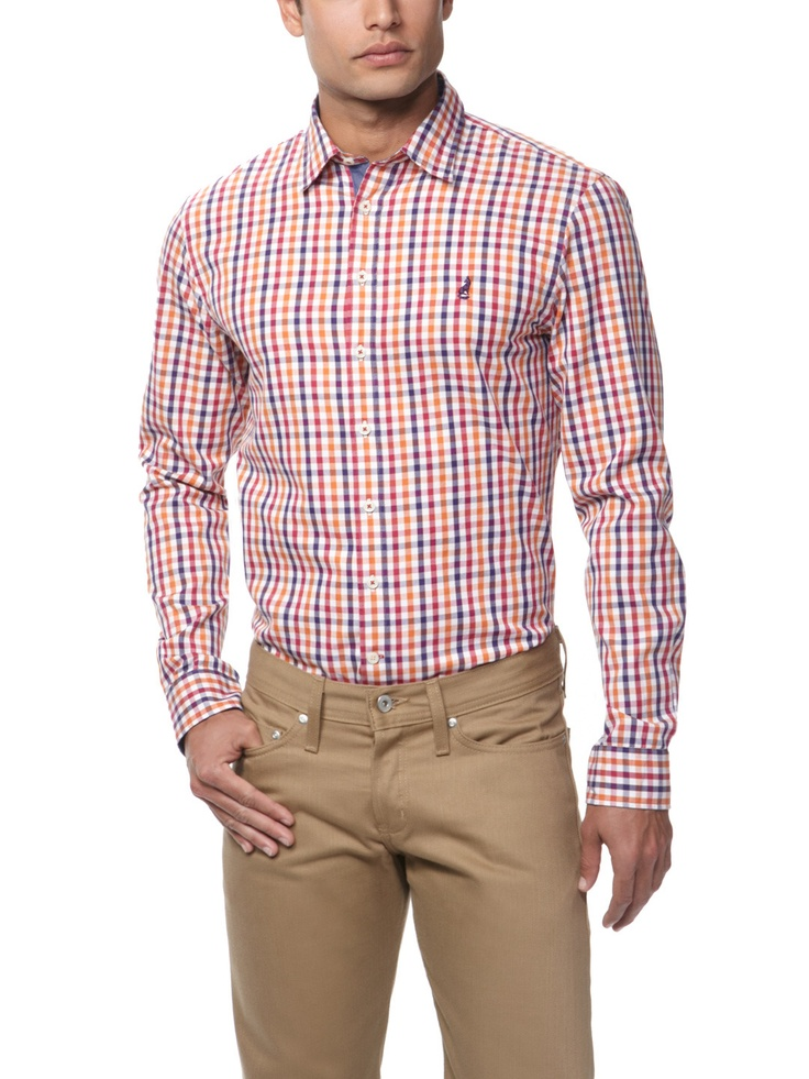 Thomas Pink shirt in a great colorful check.