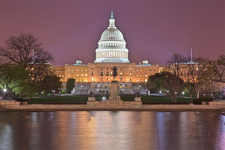 United States Capitol Building - See more of the best places to photograph in DC at http://loadedlandscapes.com/dc-photography-locations/  // Photo by Nicolas Raymond - http://freestock.ca/americas_g98-washington_dc_capitol__purple_hour_hdr_p4564.html