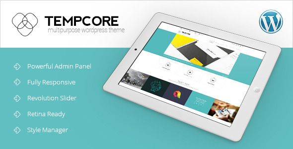 Tempcore - Responsive WordPress Theme - Business Corporate
