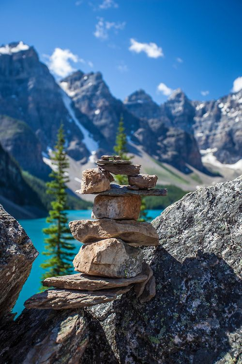 thoughtcreatesmyworld:    Inukshuk