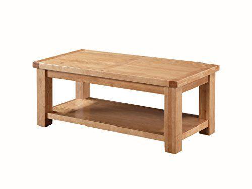 Zeitgenssischer Grosser Tisch Couchtisch Aus Massiver Esche Mit Regal