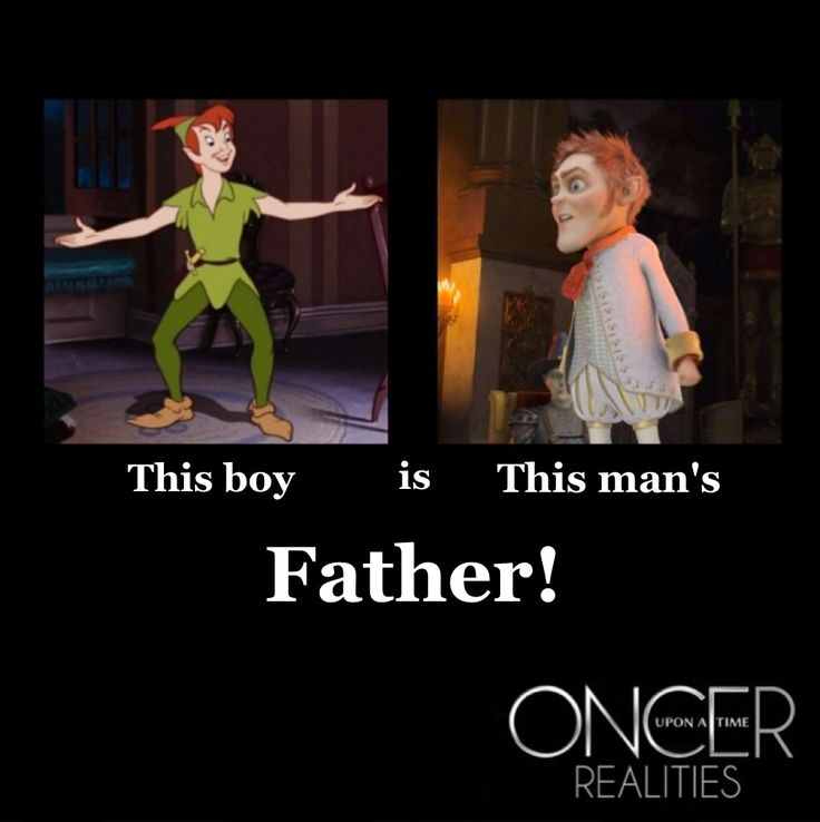 Every time I see something to do with Peter Pan, I feel like my whole childhood has been ruined!