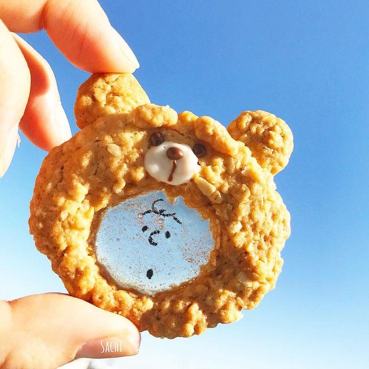 ¨̮♡︎ おはようございます☀︎ ⁑ ステンドグラスクッキーを作ると やりたくなるやつ。笑 ⁑ もこもこでかわいい♡︎ʾʾ 完全自己満( ⁼̴̀꒳⁼̴́ )✧ #着ぐるみクッキー ⁑ ⁑ レシピはもちろん@inumaiko ᒼᑋªᐢ*✦︎⋆︎の #由美子のザクザクオートミールクッキー #手作りおやつ#簡単おやつ#スイーツ#クッキー#キャラフード#キャラクッキー#ステンドグラスクッキー#オートミールクッキー#スヌーピークッキー#スヌーピー#テッドクッキー#テッド#おうちごはん#デリスタグラマー#クッキングラム#ママリ#homemade #homemadesweets #sweets #homebaking #cookie #food #delistagrammer #lin_stagrammer #locari_kitchen #snoopy #peanuts#ted