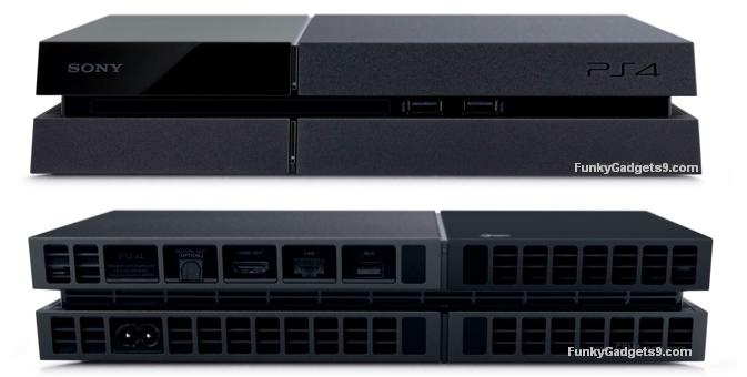 Sony PlayStation 4 Front and Back side