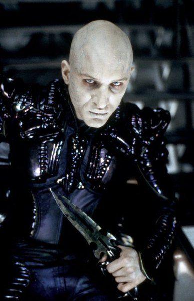 Tom Hardy as Shinzon in Star Trek Nemesis