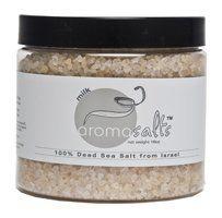 Aromosalts - Dead Sea Salts From Israel - 16 Oz - Milk by aromo salts. $12.50