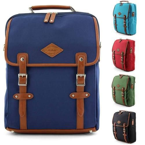 Unihood Brand New Mens Backpack School Messenger Bag Casual Shoulder Bags | eBay
